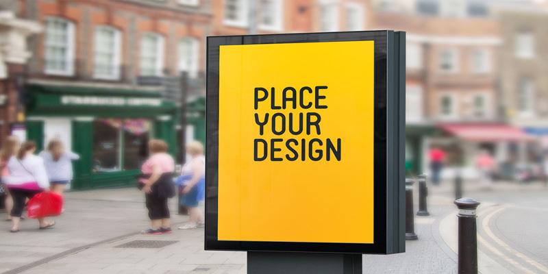 پوسترهای تبلیغاتی و نقش آنها در دیجیتال مارکتینگ | شاپ پی اس دی